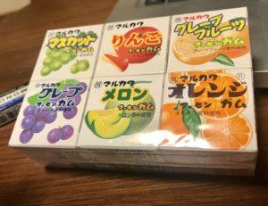 100円ショップで買ったマルカワガム
