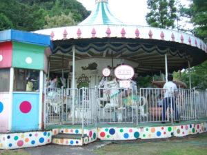 樽ケ橋遊園のメリーゴーランド
