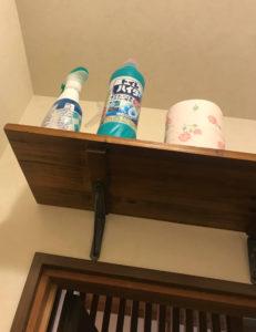 息子が自宅トイレで撮影したトイレハイターの写真