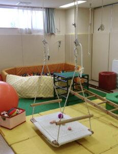 長岡療育園のOTルーム